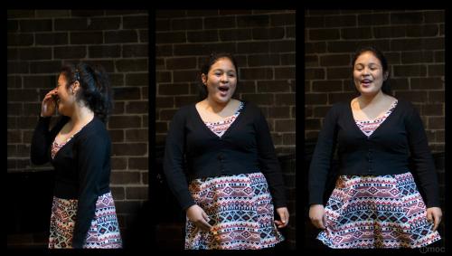 Sydney singing student